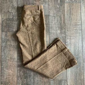 Theory Wool Flare/Wide Leg Dress Pants Trousers